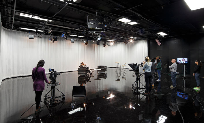 Birmingham City University's School of Media facilities